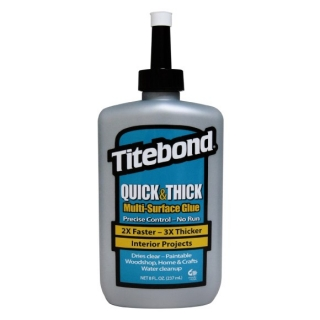 TITEBOND QUICK & THICK LEPIDLO NA DŘEVO 237ml